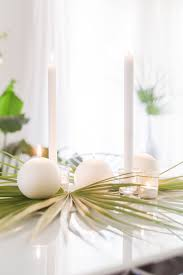 spring palm leaf tablescape u2014 five for may