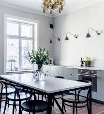 scandinavian dining space dining room danish modern dining table