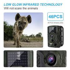 amazon com elepawl hunting trail game camera 16mp wildlife