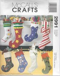 mccall s sewing pattern crafts christmas stockings m2991