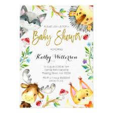 woodland baby shower invitations woodland baby shower invitations announcements zazzle ca
