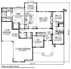 large open floor plans floor plan bungalow style homes plans craftsman house one