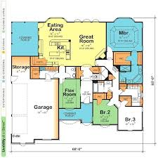 one story home floor plans one floor small house plans the best one story homes ideas on