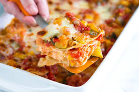 Ingredients For Lasagna With Cottage Cheese by Vegetable Lasagna Recipe