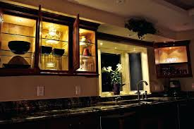kitchen cabinets with lights led under cabinet lights kitchen and
