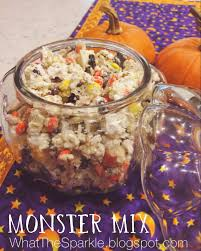 Halloween Salty Snacks Kelly Moran Entry Level Adulthood Monster Mix Halloween Snack