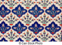 Ottoman Tiles Ancient Made Turkish Ottoman Tiles In Topkapi Picture