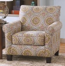 Patterned Accent Chair Homelegance Orson Accent Chair U2013 Grey Medallion Fabric 1191f6s