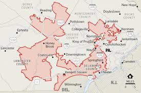 Map Of Pennsylvania Pa Supreme Court Rules Congressional Map Unconstitutional In