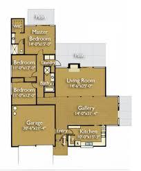 modern style house plan 3 beds 2 00 baths 1985 sq ft plan 470 2