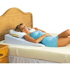 bed wedge pillow awesome putnams bed wedge sports supports mobility healthcare