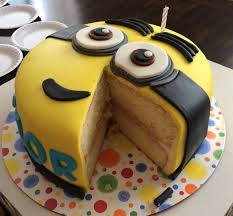 recipes and decorating ideas for minion themed desserts