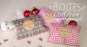 boite emballage cadeau en carton diy tuto noel boites cadeaux berlingot recycler pillow box