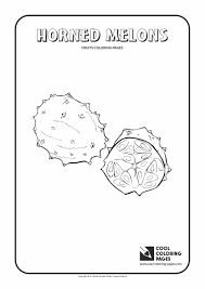 charming beautiful free melons fruit coloring books kids