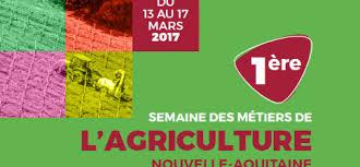 chambre d agriculture creuse 1ère semaine des métiers de l agriculture nouvelle aquitaine