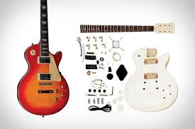 Papercraft Guitar - diy rockstar instruments unfinished electric guitar kits