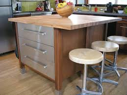 Wood Kitchen Island Table Kitchen Island With Stools Hgtv