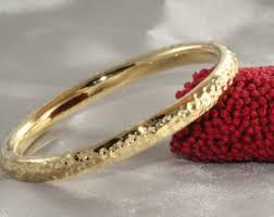 gold bangle bracelet yellow images Yellow gold bangle etsy jpg