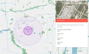 Detroit Metro Airport Map by Where Not To Fly A Drone In Detroit U2013 The Official Hivemapper Blog