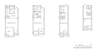 Basic Floor Plans Gallery Of Longnan Garden Social Housing Estate Atelier Gom 44