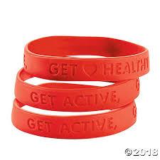 heart health bracelet images Health rubber bracelets