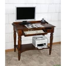Pc Schreibtisch Schreibtisch Computertisch Pc Tisch Mit Tastaturauszug Braun