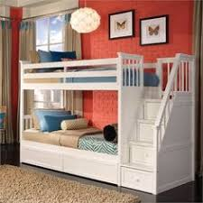 Stair Bunk Beds Gray Bunk Beds With Stairs Storage Drawers And Bed Storage