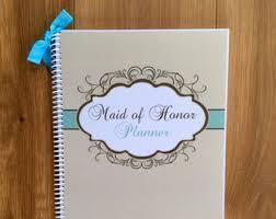 Maid Of Honor Planner Maid Of Honor Wedding Planner Book U0026 Wedding Organizer Bride