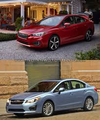 2017 subaru impreza sedan interior 2017 subaru impreza sedan vs 2011 subaru impreza sedan