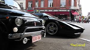 black enzo combo black fiat 500 and black enzo