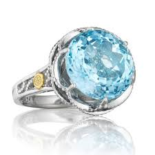 blue rings jewelry images Tacori 18k925 silver sky blue topaz cocktail ring jpg