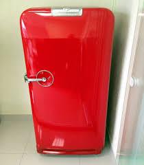 Fabuloso Geladeira Antiga Vermelha Gm - Frigidaire | Eletrodoméstico  &DG45