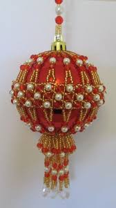 31 best beaded bauble patterns images on
