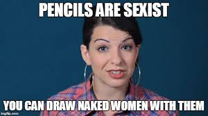 Funny Sexist Memes - anita sarkeesian meme by midnight fantom on deviantart