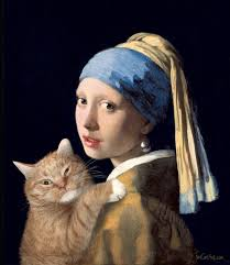 vermeer earring fatcatart great artists mews girl with a pearl earring and a