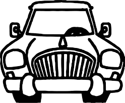 front classic toy car coloring page wecoloringpage