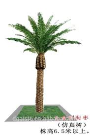 artificial canada dates palm tree for decoration artificial