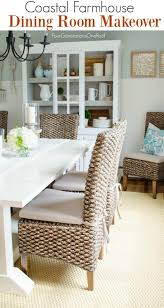 dining room makeover coastal four generations one roof
