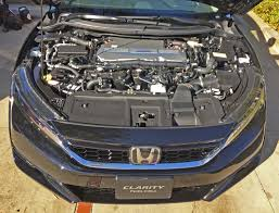 the aerodynamic styling execution of the new honda clarity fuel