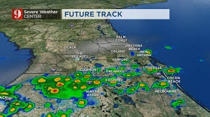 Cocoa Beach Map More Rain Expected Over Central Florida For The A M Drive Wftv