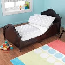 Kids Bedroom Furniture For Girls Peoria Il Amazon Com Kidkraft Toddler Spots And Dots Gray Bedding Set 4