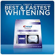crest 3d white whitestrips with light teeth whitening kit crest 3d white whitestrips with activating light cali white