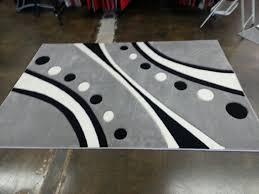 Black Polka Dot Rug 3 Piece Set Polka Dot Black With Grey And Red Area Rug Rug