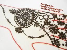 easy diy arabic mehndi designs for hands arabic henna tattoo