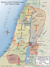 New Testament Map Biblical Archaeology Map 13