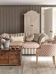 pretty shabby chic sofa living room home interior design ideas