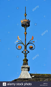 Roof Finials Spires by Roof Finial Stricklandgate Kendal Cumbria England United