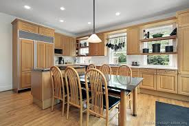 Oak Cabinets Kitchen Ideas Kitchen Endearing Pictures Of Kitchens Modern Light Wood Kitchen