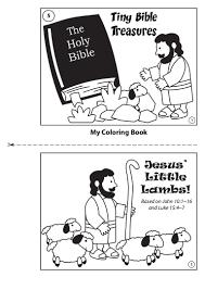 coloring book jesus u0027 little lambs