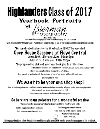 yearbook prices class of 2017 yearbook portraits floyd central high schoolfloyd